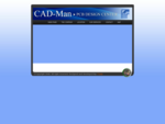 Home page of CAD Man Welcome