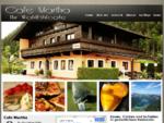 Cafe Martha: Das familiäre Cafe / Restaurant mit Zimmer in St. Gertraudi - Brixlegg im Inntal in ...