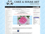 Cake Sugar Art, For all your cake decorating and sugarcraft requirements.