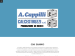 A. CAPPILLI CALCESTRUZZI - COSTRUZIONI EDILI - TAURISANO LE - VISUAL SITE