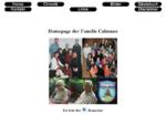 Homepage der Familie Calmano