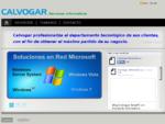 Calvogar - Servicios Informaacute;ticos