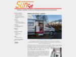 Sunset Campers, Ontwerp, realisatie, verhuur en verkoop van tweepersoons buscampers