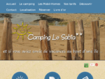 Camping ile Oléron, location Mobil Home - CAMPING LE SABIA **, Saint Denis Oléron Camping