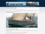 Officiell webplats för Capiro Yachting, återförsäljare av Comfortina segelbåtar (Comfortina 35,