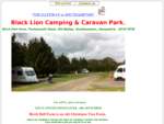 Black Lion Caravan and Camping Park,Tent Site. Caravan Storage.Touring Holiday Caravans. Caravan ...