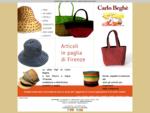 Cappelli di paglia Vendita e produzione cappelli di paglia Firenze Toscana