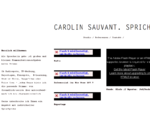Carolin Sauvant - Sprecherin Stuttgart München Hamburg