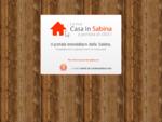 Il portale immobiliare della sabina   Appartamenti, ville, rustici, terreni, in affitto e vendita
