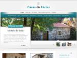 CASAS DE FERIAS PARA ALUGAR