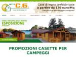 Case in legno di abete prefabbricate - C. G.