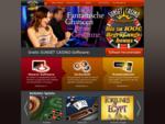Sunset Casino, Roulette, Black Jack, Automatenspiele und alle Casino Spiele online