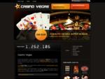 Casino hry zdarma - automaty, ruleta, black jack, poker a ďalšie - Casino Vegas