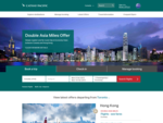 Online Flight Bookings, Ticket Bookings, Airfares, Promotions - Cathay Pacific Canada