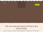 Hotel Ortisei Cavallino Bianco family spa Grand Hotel Ortisei