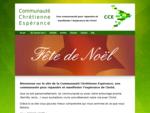 Communauté Chrétienne Espérance | Une communauté pour répandre et manifester l039;espérance du