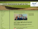 Accueil - Comité départemental de golf du Tarn