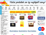 levné CD, levné DVD, hry, hračky, filmy, knížky | CDMC. cz