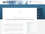 CEA Srl - Prodotti e accessori ascensori (Mi) - Produzione e distribuzione componenti per ascensori