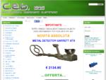 CEB Sas - alimentatori, cavetteria, componentistica elettronica, metal detector, audio-video, .