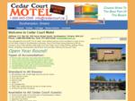 Cedar Court Motel, Southampton Ontario Canada