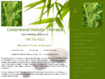 Cedarwood Holistic Therapy