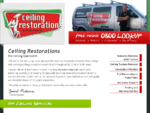 Asbestos Removal and Textured Ceiling Restorations - the ceiling specialists. Auckland Tauranga ..