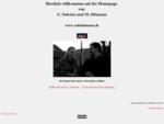 Homepage Matthias Ottmann und Claudia Sobotta Startbildschirm