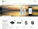 Spletna trgovina z izbrano ponudbo pametnih pripomočkov GoPro HERO4 kamere, WiFi tehtnice Withings,