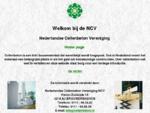 De homepage van de Nederlandse Cellenbeton Vereniging NCV