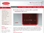 profesionální průmyslové značení - razníky, raznice, lasery Automator