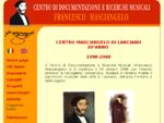 Centro di documentazione e ricerche musicali Francesco Masciangelo di Lanciano (CH)