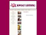 Strona główna - Kwiat Lotosu - Studio Pięknej Sylwetki