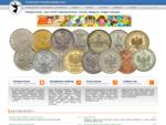 Katalog monet, ceny monet kolekcjonerskich, monety obiegowe, snajper aukcyjny - Centrum ...