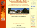 Auckland Studio Potters - Pottery classes and exhibitions