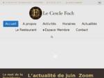 Le Cercle Foch, 33 ave Foch, 75116 Paris 01 45 01 24 25 - Accueil