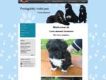 Úvodní stránka   Portugalský vodní pes   Chovatelská stanice Černý diamant