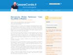 Cesare Corda Blog