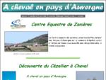 à cheval en pays d'Auvergne