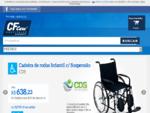 Cadeira de Rodas, Cama Hospitalar - Cf Care Material Hospitalar
