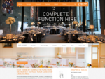 Complete Function Hire - Event Hire | Function Hire | Furniture Hire Melbourne