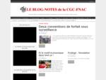 LE BLOG-NOTES de la CGC-FNAC | Faire que demain l'ensemble du personnel de l'encadrement soit encor