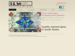 Stained Glass Repair - Swansea   C.G. Toft Ltd