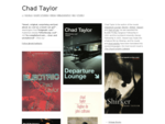 Chad Taylor | Author | www. chadtaylor. co. nz