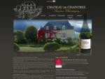 Le Chà¢teau de Chaintres au coeur de l'appellation Saumur Champigny, vous propose ses vins issus...
