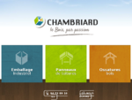 Chambriard, le bois par passion panneaux de toiture, pannaux sandwich, emballage industriel depu