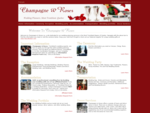 Champagne Roses - Tremblant wedding and special occasion planning Mount Tremblant