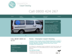 Champion Carpet Cleaning | Manukau City | Auckland
