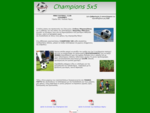 Champions 5x5 mini football, academy, parties