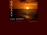 Greece, Crete, Chania, Paleochora - Studio Apartments, Fish Restaurant - GALAXY